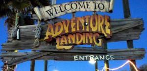 Adventure Island Charter Bus